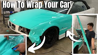 TIPS AND TRICKS FΟR WRAPPING YOUR OWN CAR! (FOR BEGINNERS)