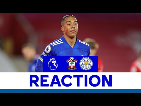 'We Must Do Better' - Youri Tielemans | Southampton 1 Leicester City 1 | 2020/21