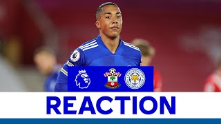 'We Must Do Better' - Youri Tielemans   Southampton 1 Leicester City 1   2020/21