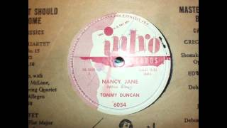 Nancy Jane  Tommy Duncan   Intro 78RPM 6054