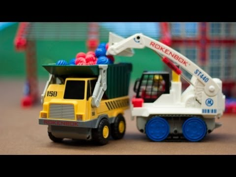 Introduction To Rokenbok Remote Control Construction Toys Youtube