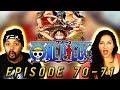 GIANT Showdown One Piece Reaction Episode 70x71   Blind Op Reaction