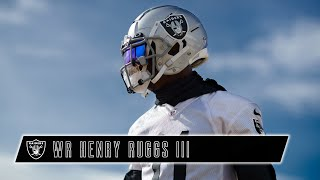 Henry Ruggs III Flashed in 2020 - Showing No Signs of Slowing Down | Las Vegas Raiders