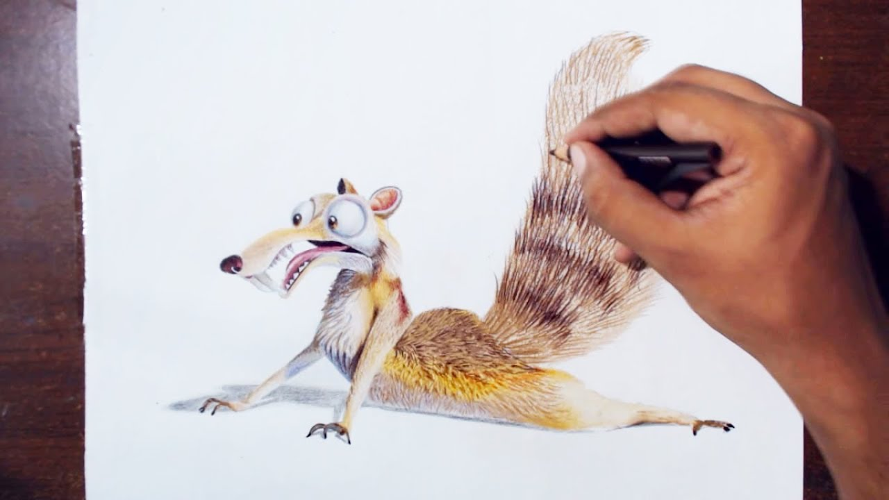 Ice Age Drawings From The Movie Ice Age