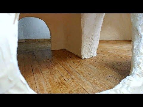 Tree Dollhouse Part 15.5 Plank Floor Updates