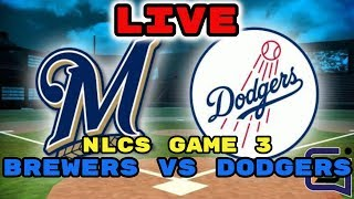Milwaukee Brewers vs Los Angeles Dodgers, NLCS Game 3