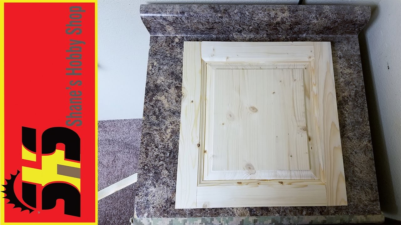 How To Make A Raised Panel Cabinet Door Youtube