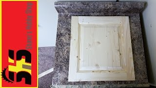 How to make a Raised Panel Cabinet Door
