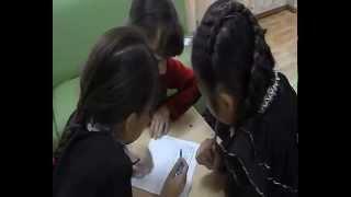 видео с урока русского языка