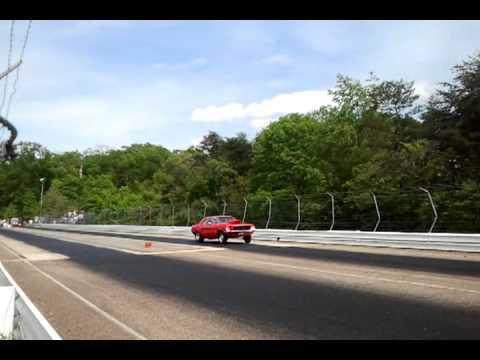 Natural Bridge Speedway - Red 67 Mustang DAO
