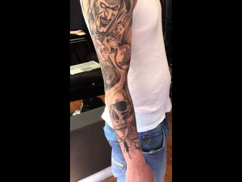 Best Hell on Earth Sleeve Tattoos