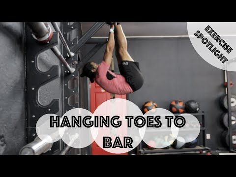 How To: Hanging Toes to Bar (Hanging Pike)