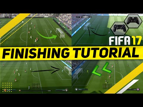 FIFA 17 FINISHING TUTORIAL / HOW TO SCORE GOALS EVERYTIME - SHOOTING TRICKS & IN-GAME EXAMPLES