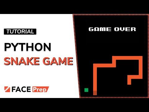 Snake Game In Python | Python Game Programming