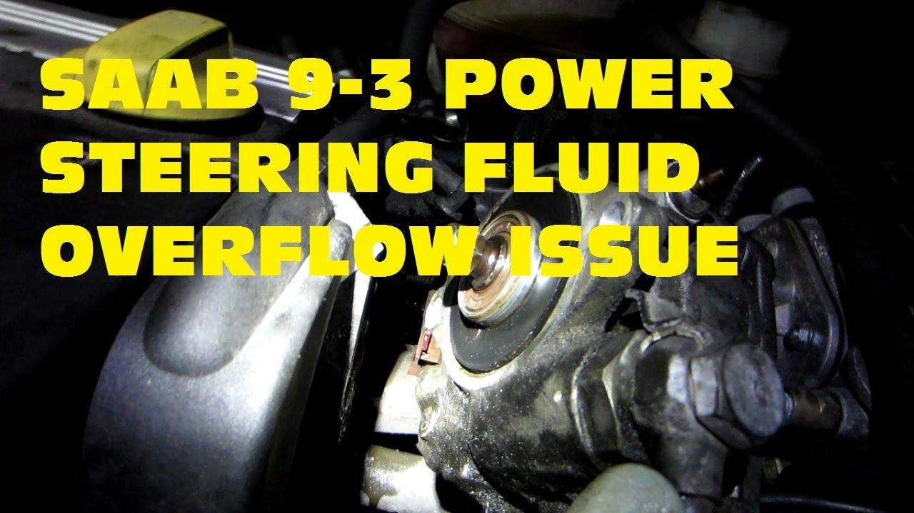 power steering fluid saab 9 3