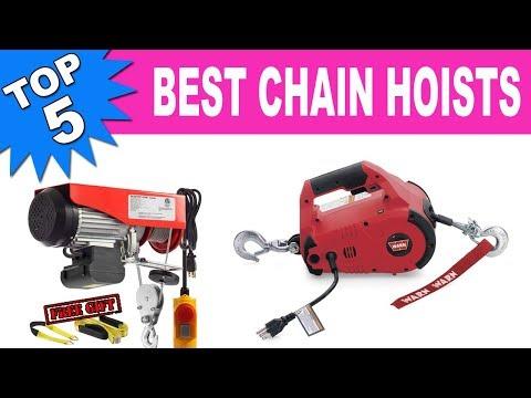 Top 5 Best Chain Hoists 2020