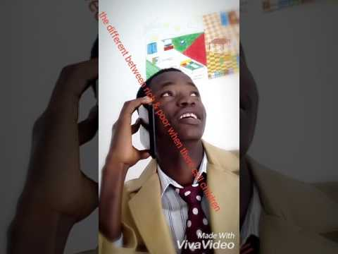 Sirlord Don PICASSO (COMEDY difference between rich & poor wen call child in Europe)