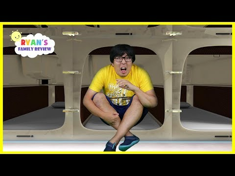 japan-capsule-hotel-tour-+-more-fun-places-with-ryan's-daddy!!!