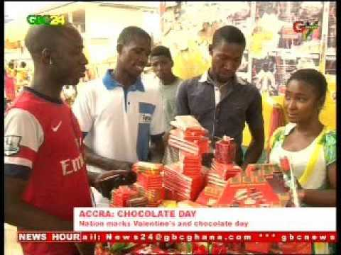 Ghana: Valentine's Day/ Chocolate Day