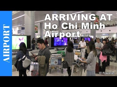 Ho Chi Minh City Airport - Arriving at Tan Son Nhat International Airport in Vietnam