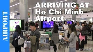 Ho Chi Minh City - Aankomst op de internationale luchthaven Tan Son Nhat in Vietnam