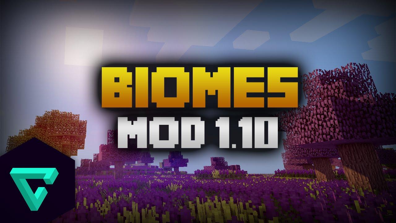 How To Install Biomes O' Plenty Mod Minecraft 1 10