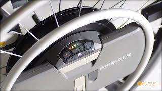 WheelDrive - Elektrischer Rollstuhlantrieb