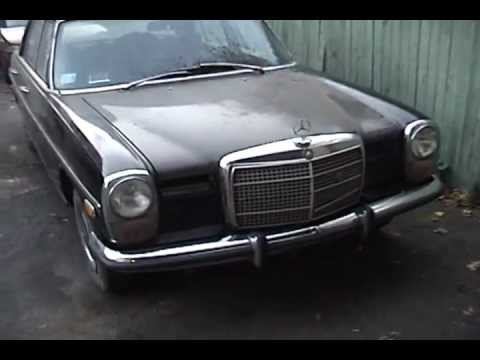 1972 mercedes benz 220d for sale part 2 youtube for Mercedes benz watch for sale