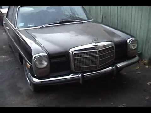 1972 Mercedes Benz 220d For Sale Part 2 Youtube