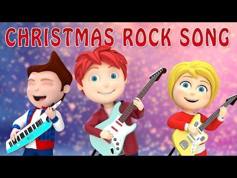 Christmas Rock Song FULL | Christmas songs for Kids 2016 | Merry Christmas| WooHoo Rhymes 3D