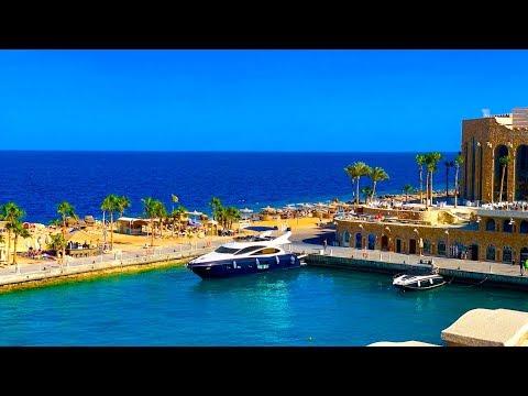 ЕГИПЕТ 2019 отдых в Хургаде класса  LUX Albatros Citadel Resort САХЛ ХАШИШ часть 1