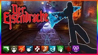 "100 *NEW* WEAPONS IN ""BLACK OPS 3 ZOMBIES"" ~ DER EISENDRACHE EASTER EGG!"