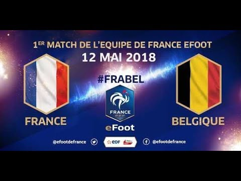 France vs Belgique - eFoot