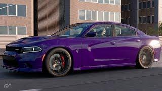 Gran Turismo Sport:~1000HP Charger SRT Hellcat Build - Tokyo Expressway Drag Strip Hunting