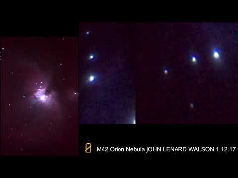 The Orion Nebula (also known as Messier 42, M42, or NGC 1976