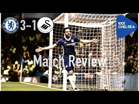 Match Review || Chelsea 3-1 Swansea || Fabregas Starts And Scores!