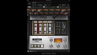 Mixing with UAD: Studer on a kick