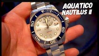 AQUATICO NAUTILUS II 500M Dive Watch Review - Best Diver Under $300?