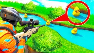 Enten Schießen in ... | Fortnite Duck Hunt Modus!