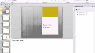 Office 2010 Class #17  How To PowerPoint Tricks