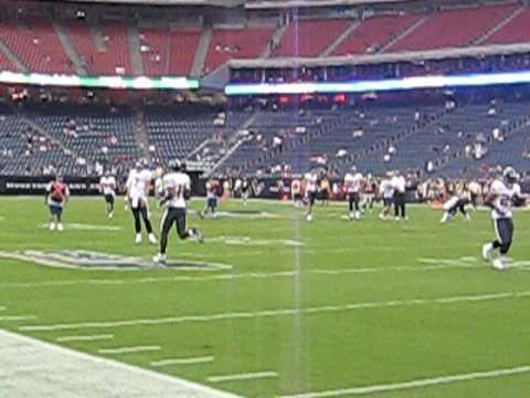 Houston Texans-New Orleans Saints, pregame
