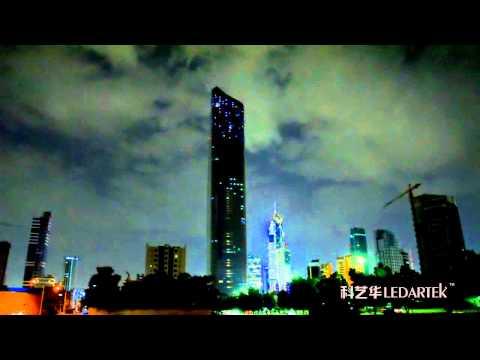 Al Hamra Tower LED Lighscape by Grandar.mpg