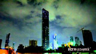 Al Hamra Tower LED Lighscape by Grandar.mpg