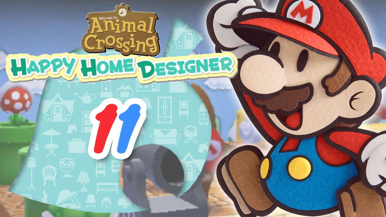 Let 39 s play animal crossing happy home designer fr jour for 7 11 happy home designer
