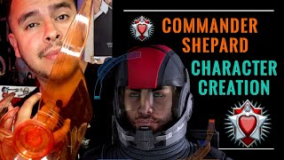 Commander Shepard Character Creation: Mass Effect Legendary Edition (Character Design) #masseffect