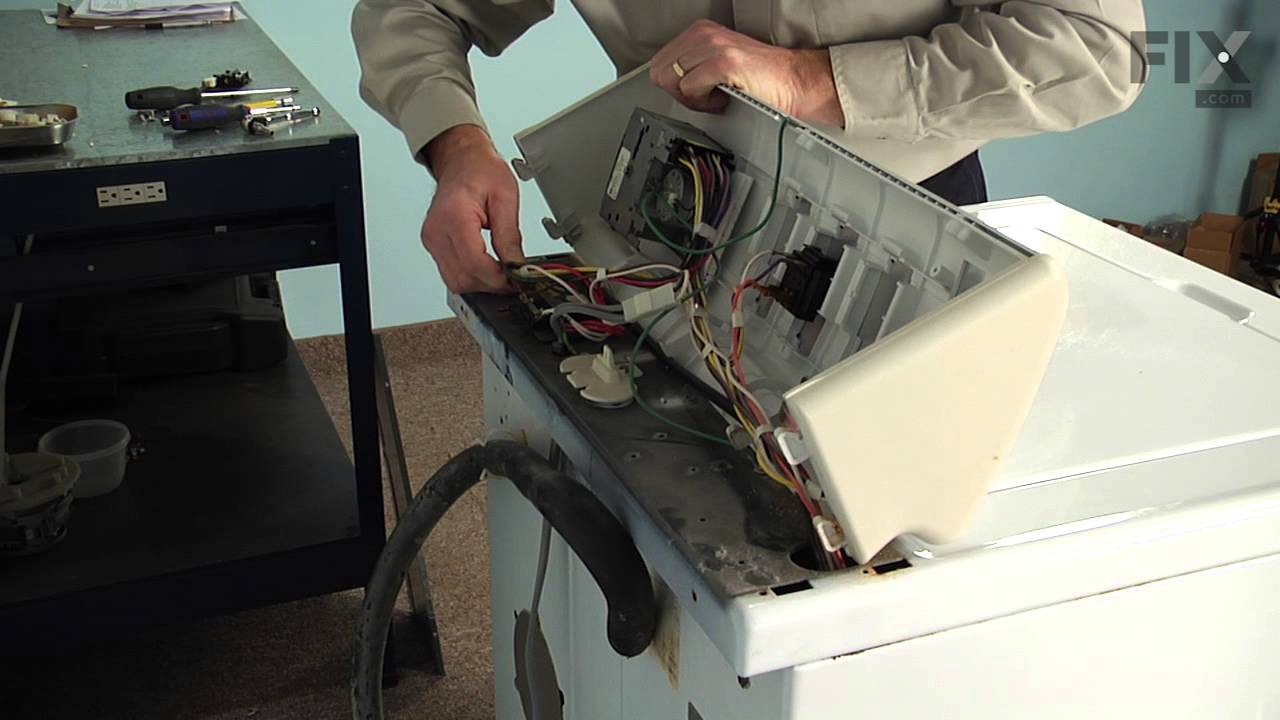 maytag washer repair how to replace the lid switch assembly [ 1280 x 720 Pixel ]