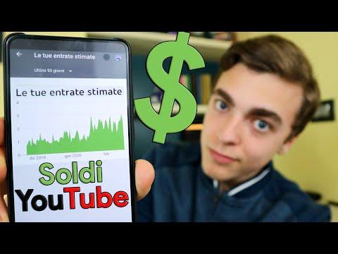 Vi Mostro I Miei Guadagni PRECISI Con YouTube! (2020)