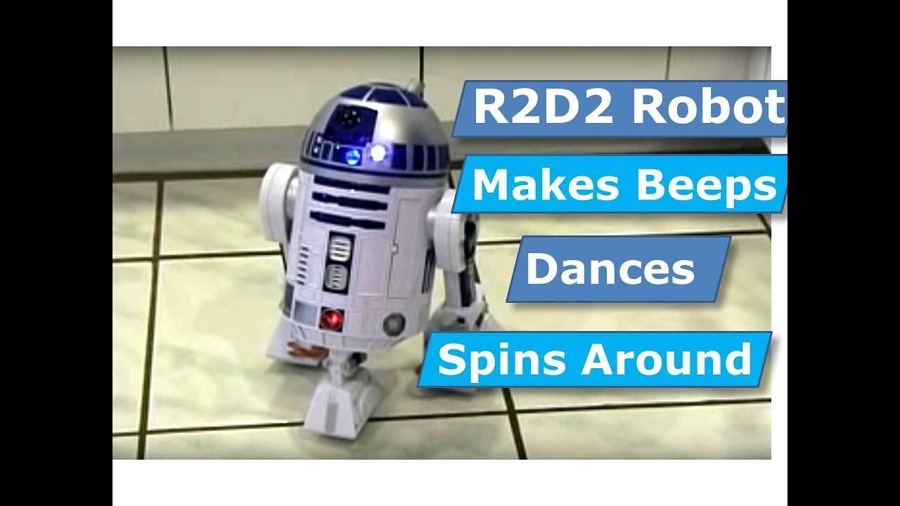 06f275795003d R2-D2 Star Wars R2D2 Droid Interactive Astromech Robot Toy Hasbro ...
