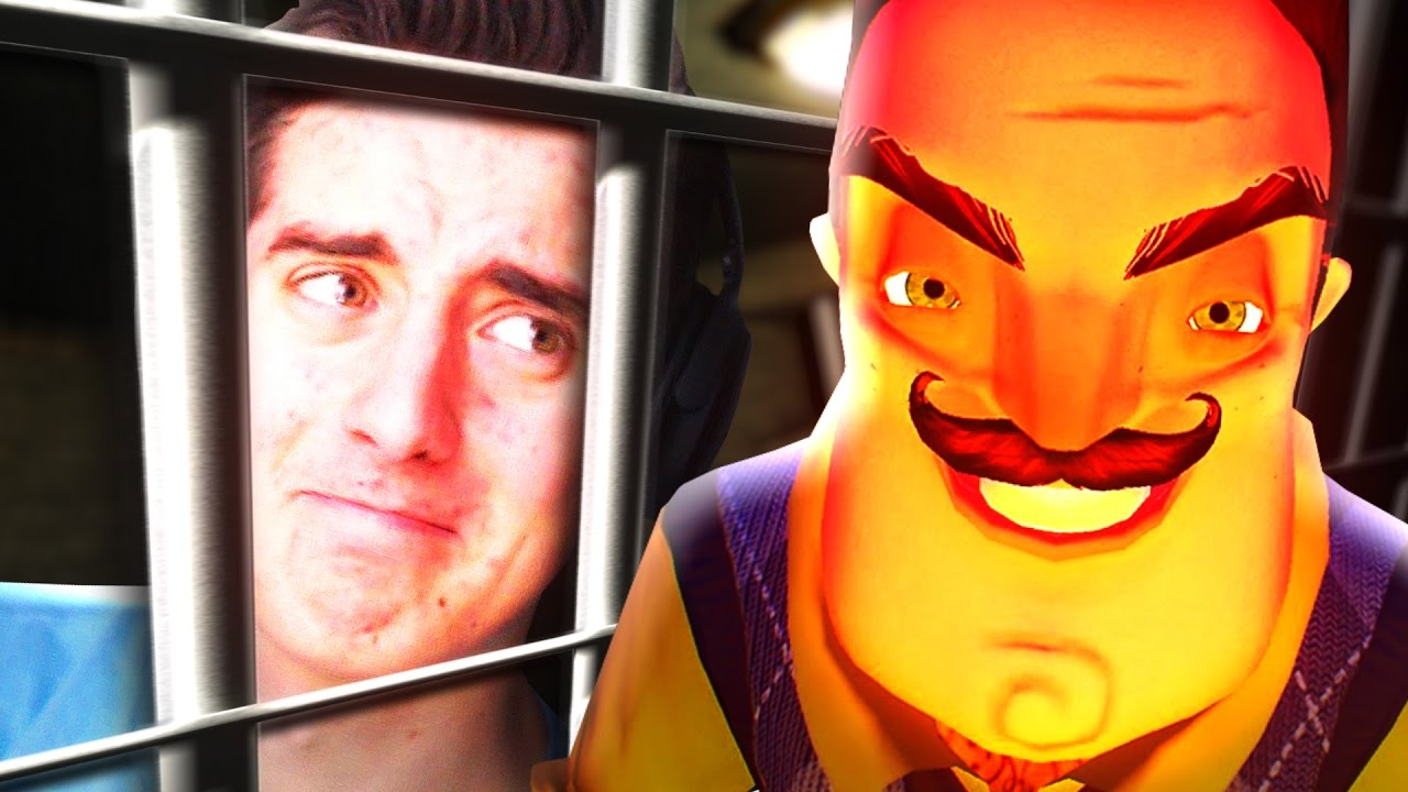 Prison Escape Hello Neighbor Youtube