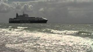 DFDS Torline vanaf Groot-Valkenisse (Zeeland).MOD